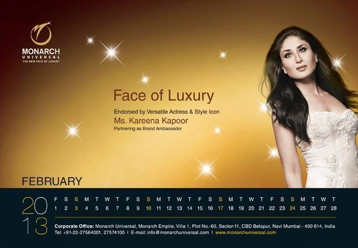Kareena Kapoor Khan Hot Sizzling Pose Photo Shoot For Monarch 2014 Edition
