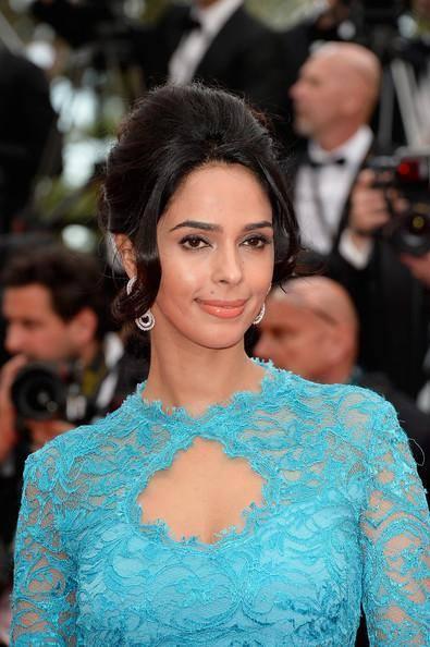 Bollywood Stars Mallika Sherawat Attend Screening Of 'Grace Of Monaco' At Festival De Cannes