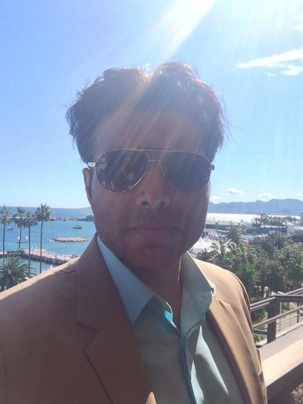 Uday Chopra Take Selfie Photo At The 67th Cannes International Film Festival