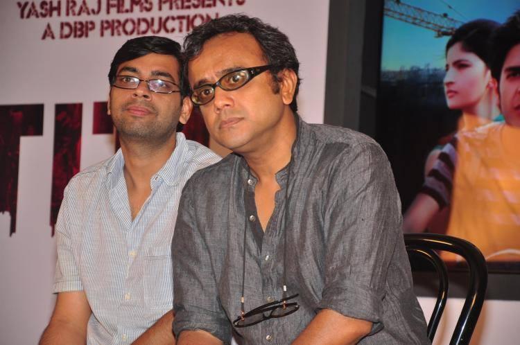 Kanu Behl And Dibakar Banerjee Present During The Trailer Launch Of Titli Movie In Mumbai