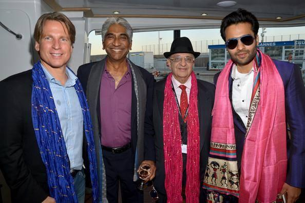 Jackky Bhagnani 1st Time At The CII Held During The Ongoing Cannes Film Festival