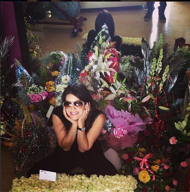 Sunny Leone Smiling Posed Photo On Her Birthday