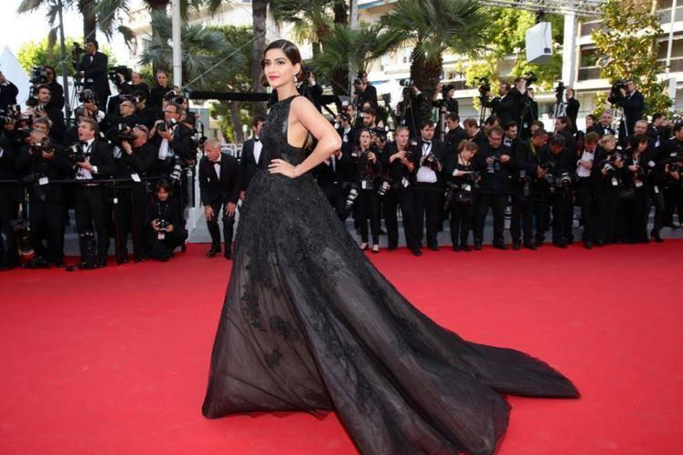 Sonam Kapoor In Elie Saab Couture At The Homesman Cannes Film Festival Premiere