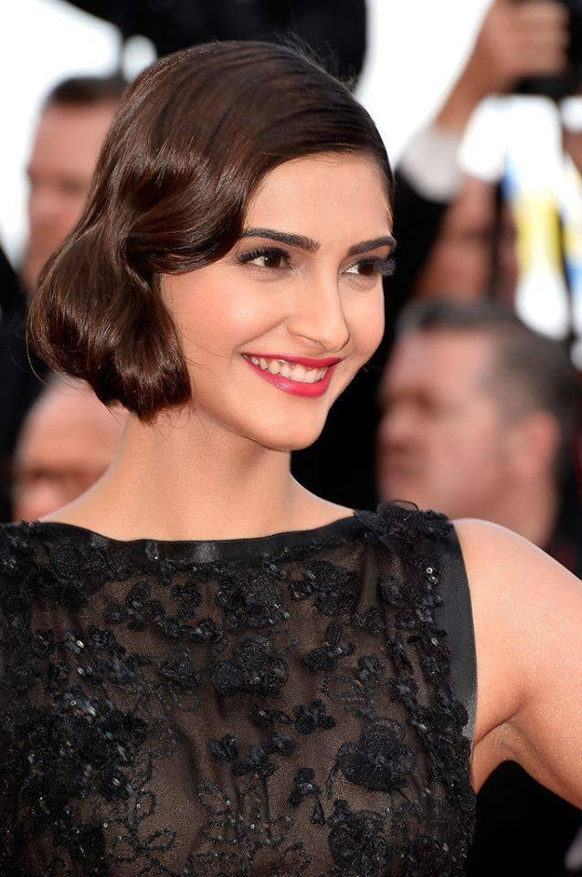 Sonam Kapoor At 'Homesman' Premiere At 67th Annual Cannes Film Festival