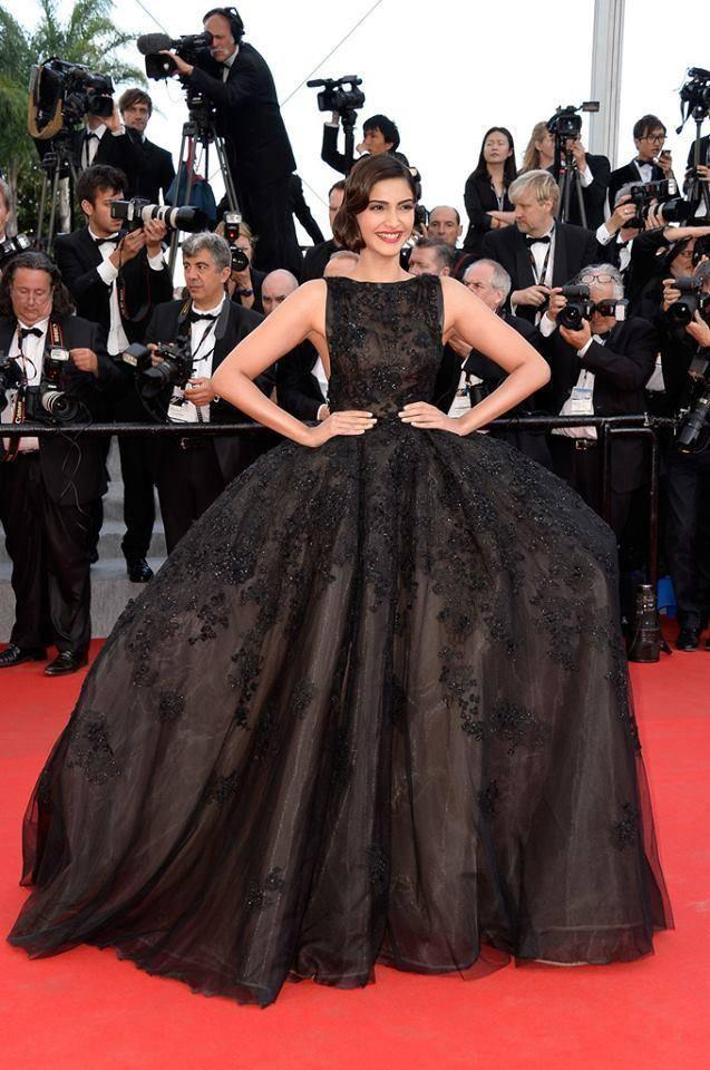 Sonam Kapoor's Vintage Style At 67th Cannes Film Festival