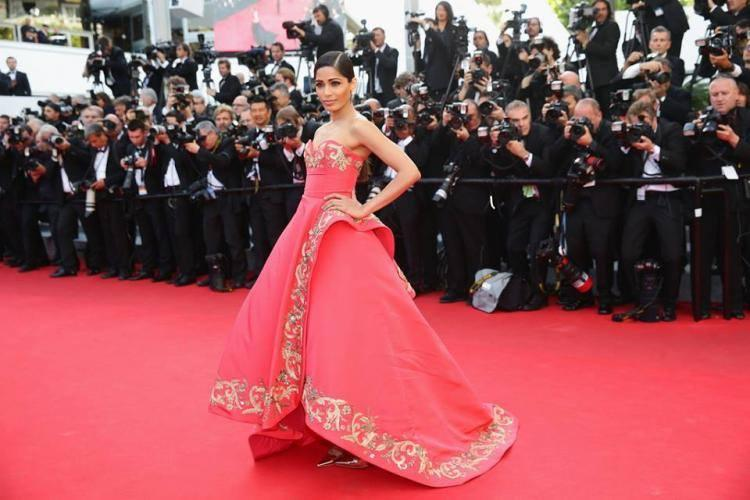 Freida Walks On Red Carpet During The Homesman' Premiere At The 67th Cannes Film Festival