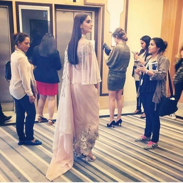 Sonam Kapoor Attend The Premiere Of Foxcatcher At 67th Cannes Fesival