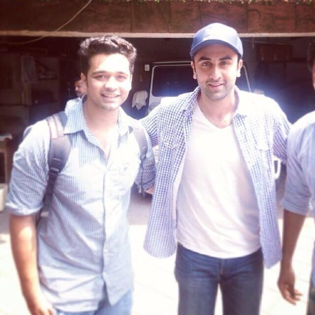 Biker Boy Ranbir Stunning Pic During Posing With His Fans