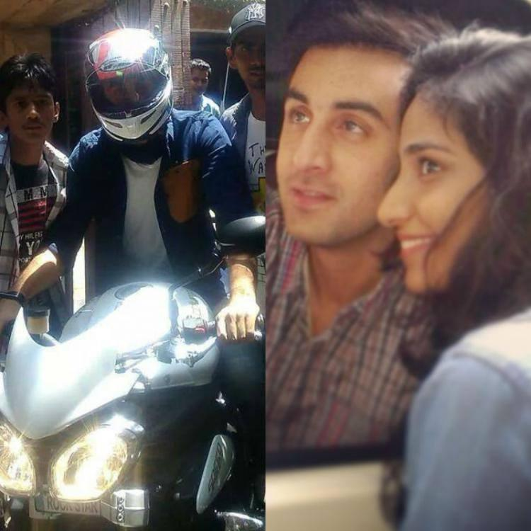 Ranbir Kapoor Spotted To Riding A Fast Sports Bike