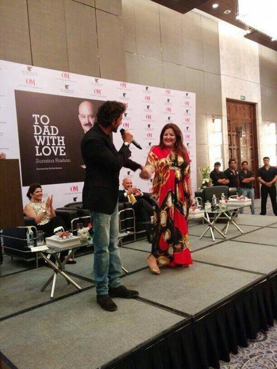 Hrithik And Sunaina Launches 'To Dad With Love' Book Which Narrates Rakesh's Moving Story