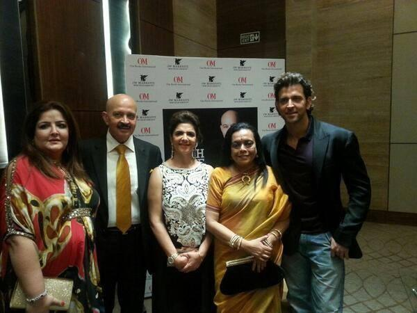 Roshan Family Beautiful Still At Sunaina's To Dad With Love Book Launch Event