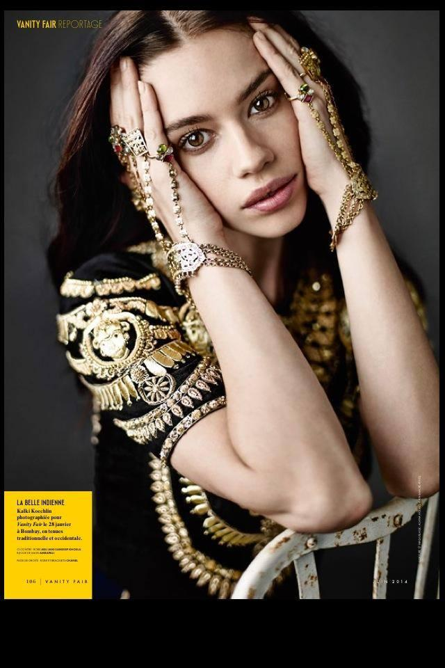 Hot Kalki Koechlin On The Cover Of Vanity Fair June 2014