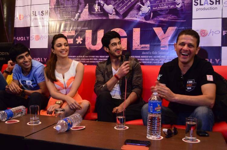 Arfi,Kiara,Mohit And Kabir Smiling Look During The Promotion Of Fugly Movie