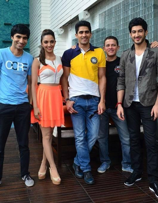 Arfi,Kiara,Vijender,Kabir And Mohit Snapped During The Promotion Of Fugly Movie