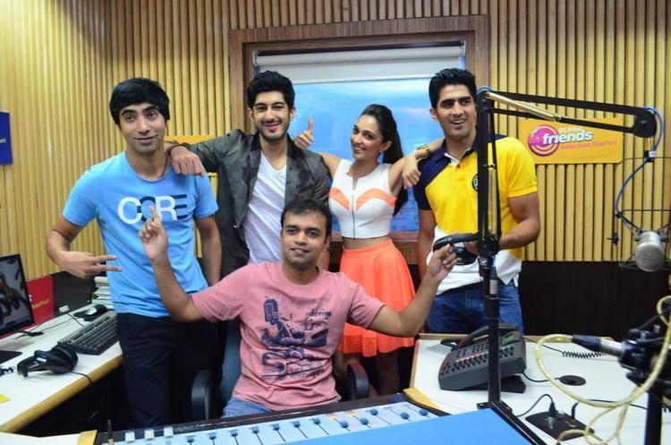 Arfi,Mohit,Kiara And Vijender Promoted Their Upcoming Flick Fugly At A Radio Station