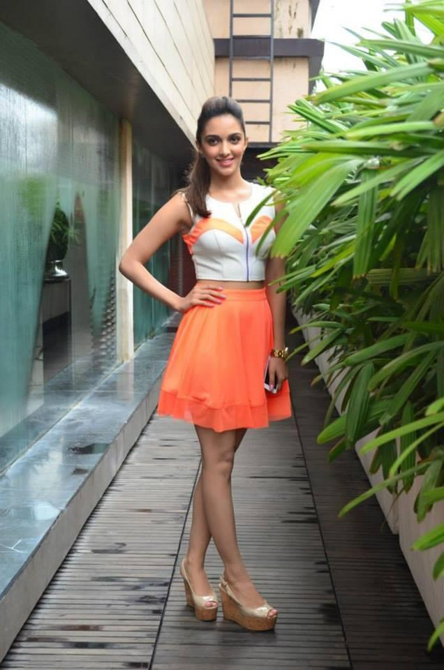 Kiara Advani Hot Look In Short Dress During The Promotion Of Fugly Movie