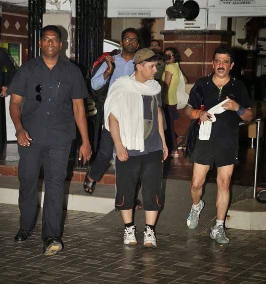 Aamir Khan Snapped Outside His Gym After A Vigorous Workout Session