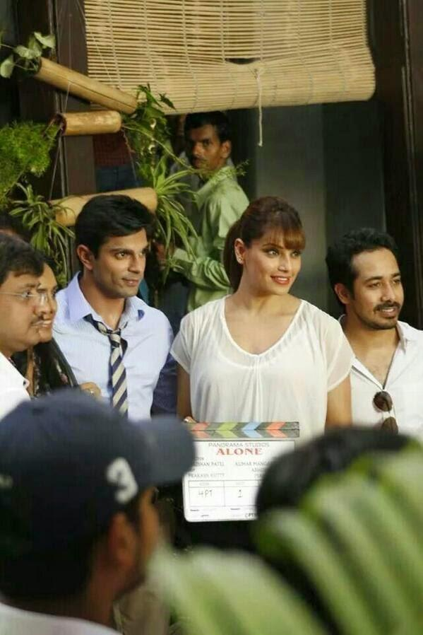 Bipasha Launch Her Upcoming Horror Movie 'Alone' With Small Screen Heart Robber Karan