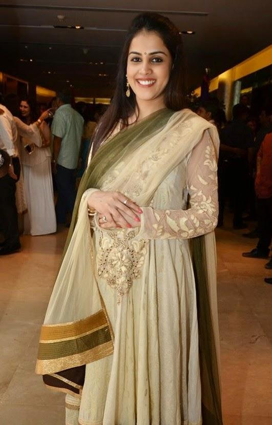 Mommy To Be Genelia D'Souza Attends Lai Bhari Launch