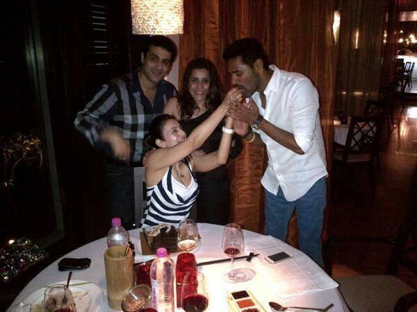 Ameesha Patel's Celebrates Her Birthday At Desi Magic Shooting Sets