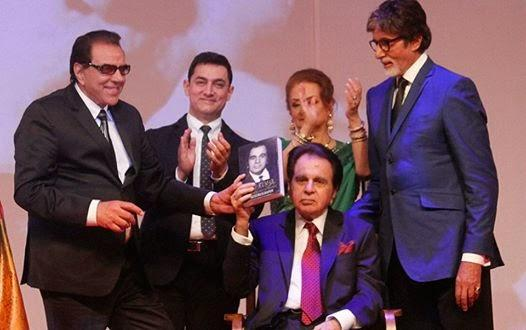 The Book Was Then Released By Dilip's Wife Saira Banu, Amitabh, Aamir Khan And Dharmendra