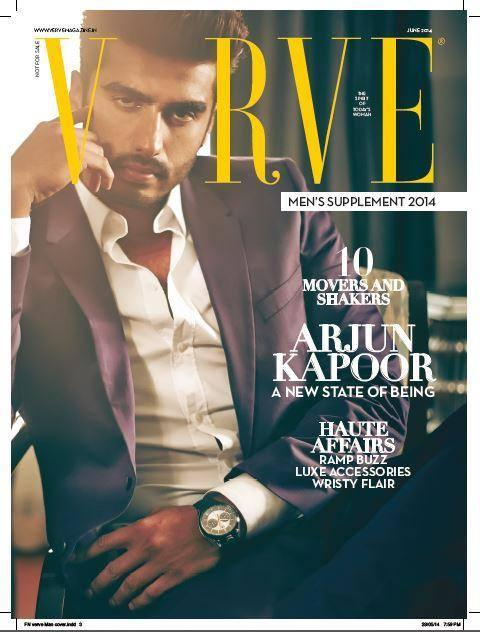 Bollywood Hunk Arjun Kapoor Covers The Verve Magazine 2014 Issue With Hotness Overload