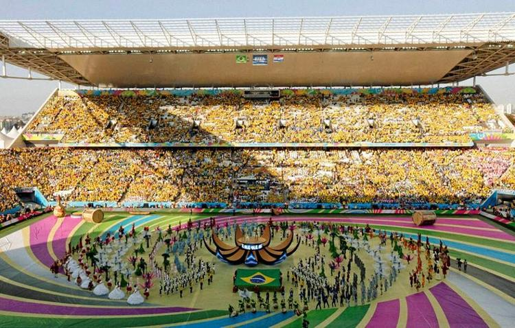 FIFA World Cup 2014 Inaugural Function Beautiful And Amazing Pic