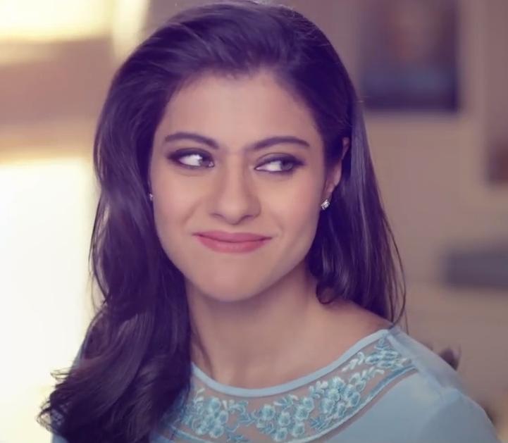 Kajol Devgan Looking Very Stunning During Omo Detergent Powder Ad Shoot