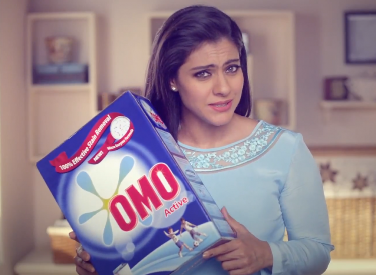 Kajol Talk About The Benefit Of Omo During Its Ad Shoot