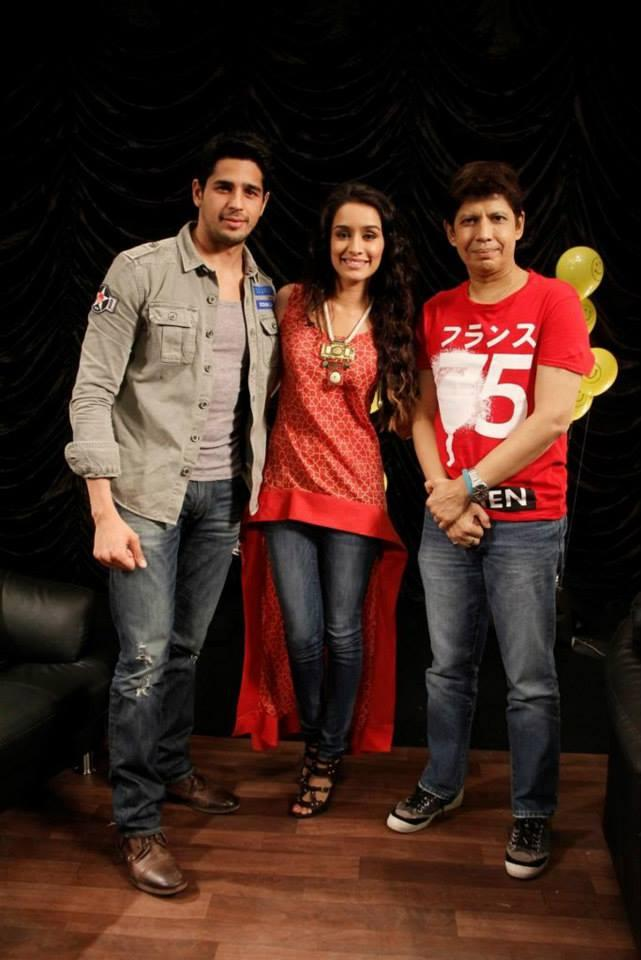 Siddharth And Shraddha Visited Zoom Studio To Interact With Omar Qureshi About Ek Villain