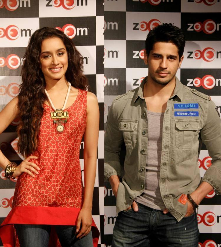 Sidharth And Shraddha Visits The Zoom Studio To Talk About Their Forthcoming Movie Ek Villain