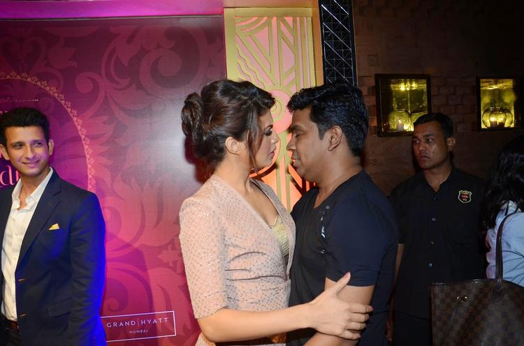 Jacqueline Fernandez And Mushtaq Sheikh Get Intimate During The Launch Of The Great Indian Wedding Book