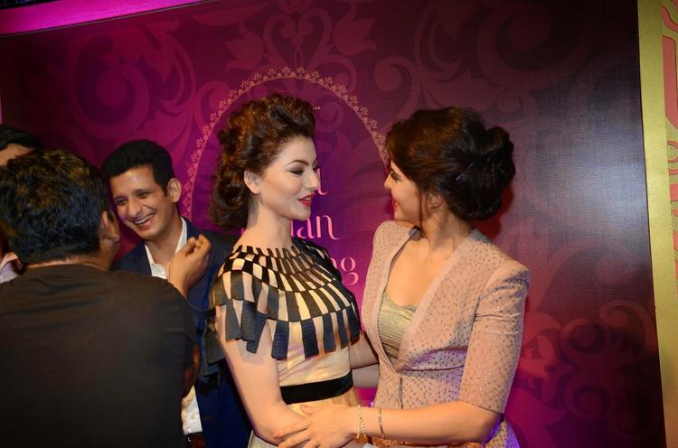 Urvashi Rautela And Jacqueline Fernandez Cool Meet During The Launch Of The Great Indian Wedding Book