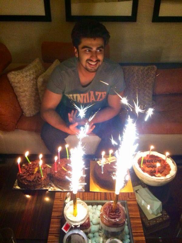 Arjun Kapoor Rings In His 29th Birthday Last Night