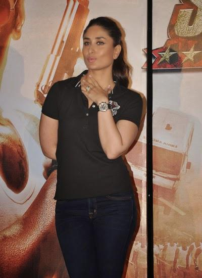 Kareena Kapoor Attend The Trailer Launch Of Singham Returns