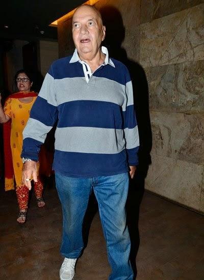 Prem Chopra Attend The Screening Of Humpty Sharma Ki Dulhania
