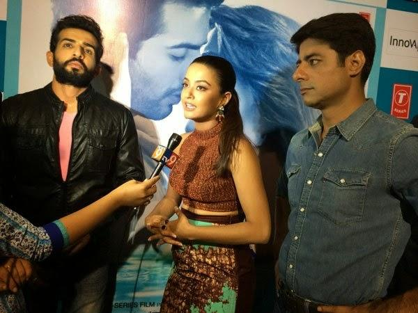 Jay,Surveen And Sushant At Hate Story 2 Promotions In Bangalore