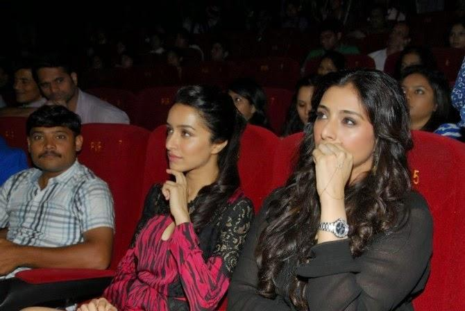 Shraddha Kapoor And Tabu Present At The Launch Of Haider Movie