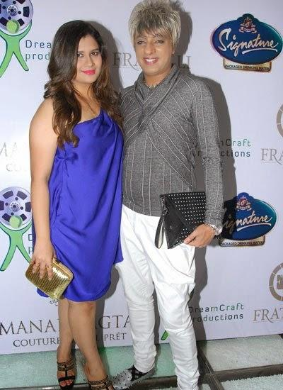 Manali Jagtap And Rohit Verma Posed At Manali Jagtaps Bag Collection Clutch Closet Launch Event