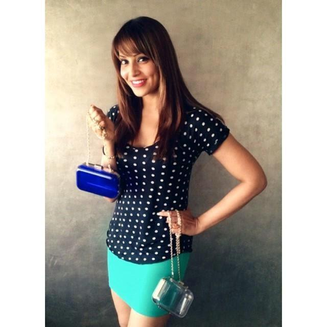 Bipasha Basu Cool Look Pose In New Handbag Photo Shoot For The Trunk Label