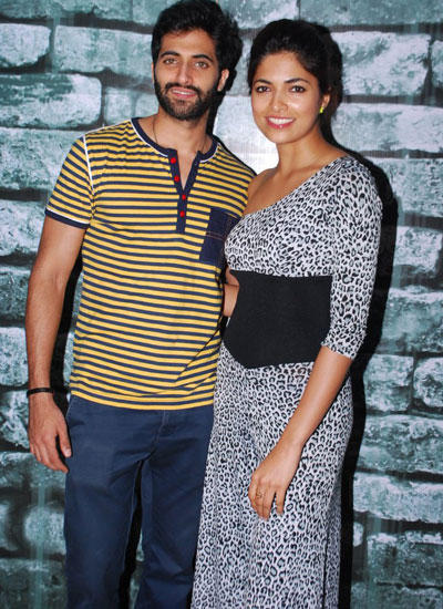 Akshay Oberoi And Parvathy Omanakuttan Posed During The Promotion Of Their Pizza 3D Movie