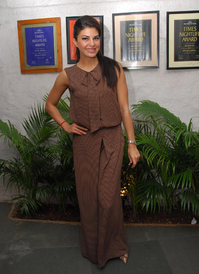 Jacqueline Fernandez Stylish Look At Sonal Sehgal Birthday Party