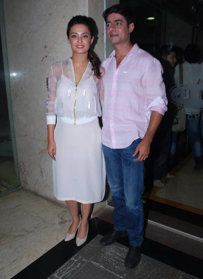 Surveen And Sushant Grace At Hate Story 2 Promotional Event