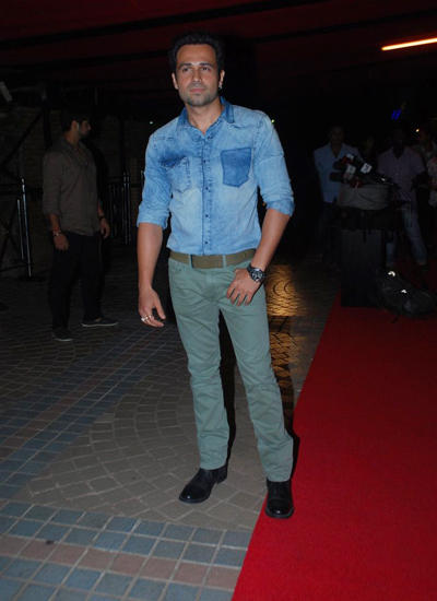 Serial Kisser Emraan Hashmi Dappers Look At The Wrap Up Party Of His Upcoming Film Raja Natwarlal
