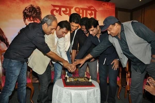 Lai Bhaari Team Members Celebrating The Success Bash Of Their Film