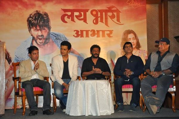 Riteish And Others Attend The Pressmeet And Success Bash Of Lai Bhaari