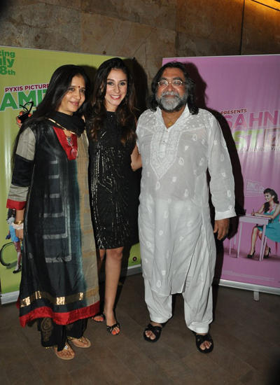 Prahlad Kakkar And Other Celebs Posed During The Screening Of Vir Das Film Amit Sahni Ki List