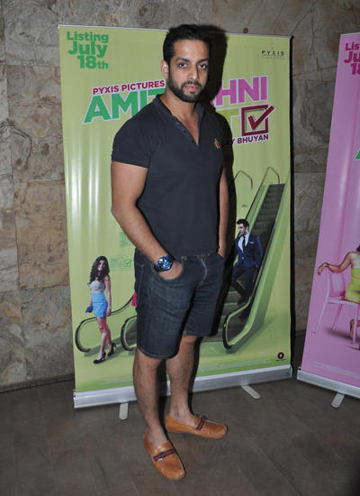 Salil Acharya Spotted At The Screening Of Vir Das Film Amit Sahni Ki List