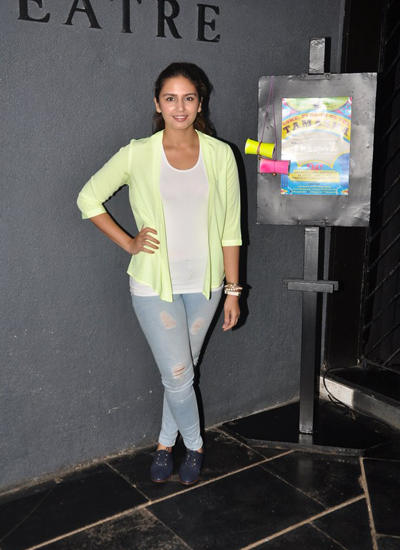 Actress Huma Attend The First Orientation Meeting Of 16th Season Of Thespo