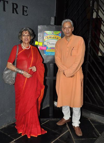 Dolly Thakore During The Orientation Meet Of Thespo 16 In Mumbai